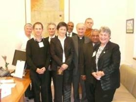 ARRCC with Minster for Climate Change Penny Wong